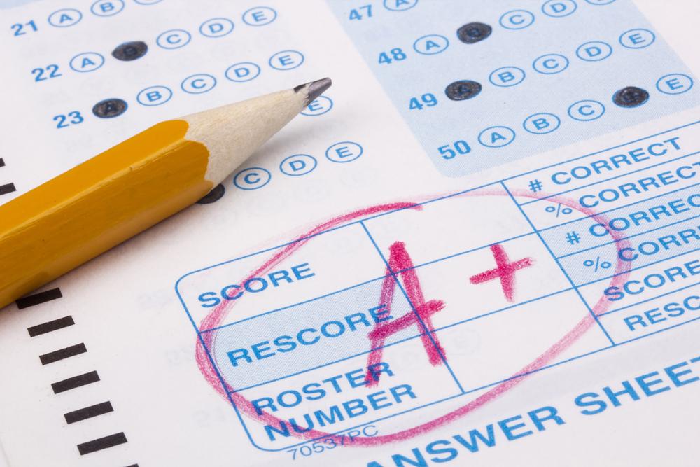 SAT test score